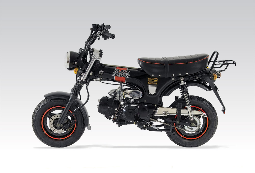 importateur dax 125 black edition moto skyteam 125