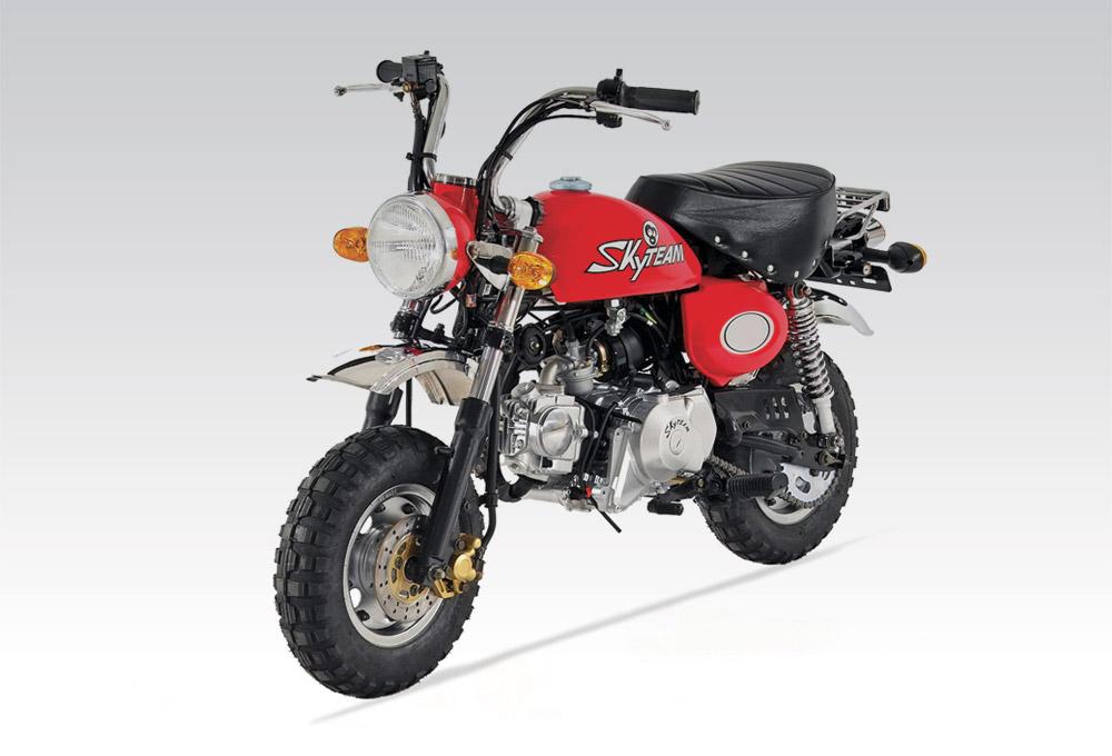 importateur moto monkey 50 moto skyteam 50 cm3. Black Bedroom Furniture Sets. Home Design Ideas